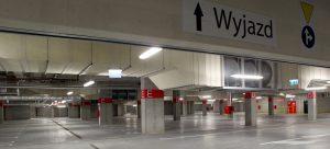 parking wewnętrzny Arena Zabrze